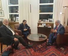 בצל המתקפה, ביבי נפגש עם נשיאת העליון