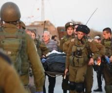"""זירת הפיגוע - פיגוע הדריסה בשומרון: אסיר משוחרר רצח חייל וקצין צה""""ל"""