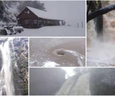 השלג בחרמון והזרימה בבניאס, בזוויתן, בג'ילבון והתנור