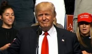טראמפ בנאומו
