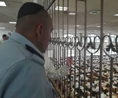 בכירי משטרת ירושלים ביקרו בישיבת חברון