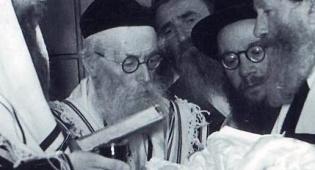 החזון איש בברית בתל אביב - מרגש: כשהחזון איש בחן את הילד הקטן