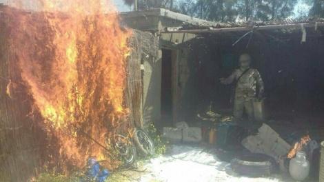 כוח מצרי חושף מנהרה שנחפרה לרצועה מתוך בית ברפיח המצרית - 'אם תפסיקו להבריח נשק, נספק לכם חשמל'