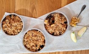 קראמבל תפוחים מתוק ומפנק - פרווה או חלבי