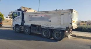 נהג המשאית התגלה כנער בן 16.5 בלבד
