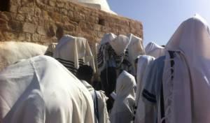 מתפללים בציון אהרן הכהן, ארכיון • למצולמים אין קשר לנאמר בכתבה