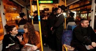 אילוסטרציה - ההבדלים בין גברים לנשים בתחבורה הציבורית
