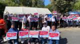 ההפגנה מול משרד האוצר