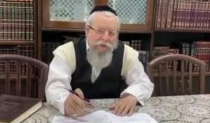 הרב אלימלך פירר: 'נא, הישארו בבתים!'. צפו