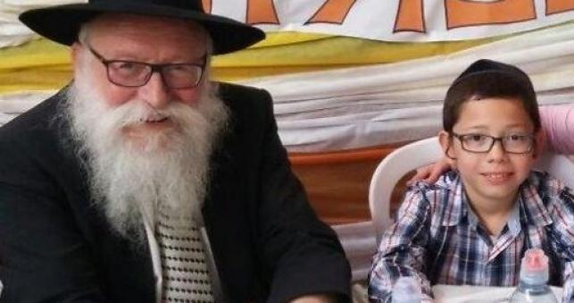 מוישי, עם סבא שמעון