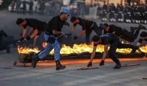 תיעוד: כישורי כוחות הביטחון של חמאס
