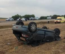 הרכב ההפוך - צעיר בן 26 התהפך עם רכבו ונהרג במקום