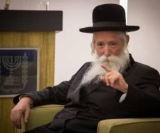 הרב יצחק דוד גרוסמן נפצע קל בתאונה
