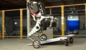 איוב קרא, תראה: רובוט ענק עם ביצועים מדהימים