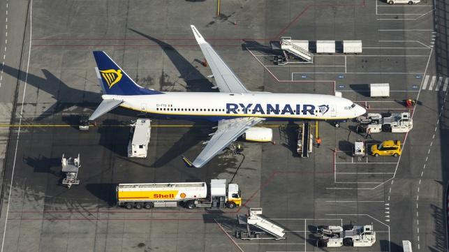 מטוס של ריינאייר