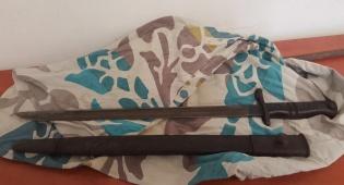 החרב שנתפסה - בן 60 איים עם חרב חדה על ילדים ונעצר