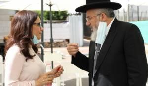 הרב כהן עם ראש העיר אור יהודה