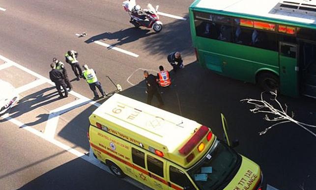 כביש 2: צעיר נפגע מאוטובוס ונהרג