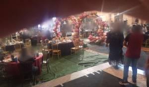 בחתונה ערבית: '20 איש? בקושי חאפלה'