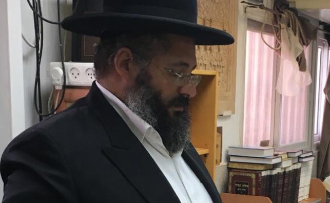 רבי חיים יוסף אברג'ל בבית המדרש בנתיבות, הבוקר