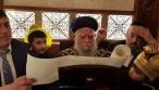 """תיעוד: זקן הראשל""""צים בקריאת המגילה"""