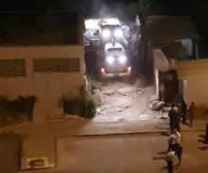 תוך כדי אלימות: נהרס בית כנסת בבית שמש