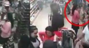 שת גנבות בלבוש חרדי, בחנות למוצרי טיפוח. ארכיון - מה הישראלים גונבים: הרשימה המלאה