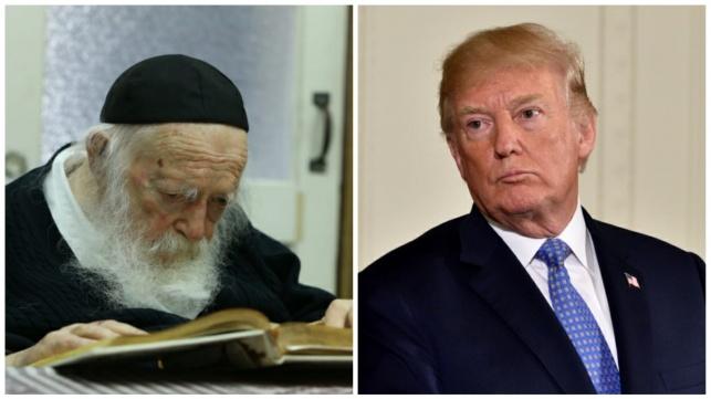 """טראמפ שאל את הגר""""ח: מתי יבוא המשיח?"""