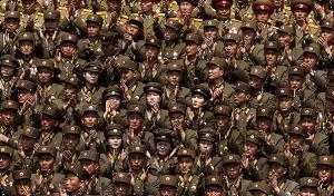 חיילים צפון קוריאנים