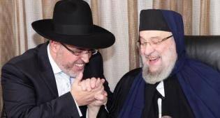רבנים ושרים בשמחת הרב ליאור גבאי