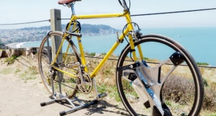 אופניים חשמליים בגלגל אחד חדשני וייחודי
