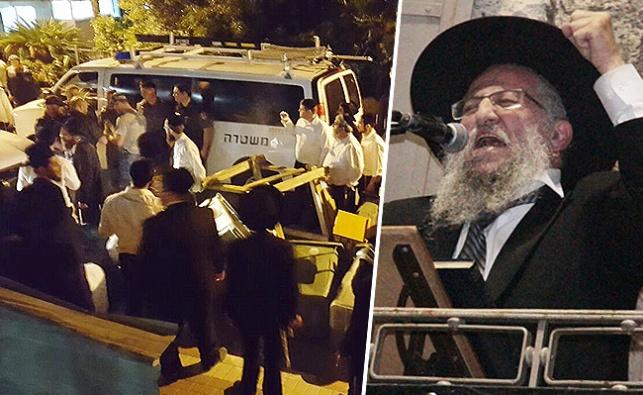 הרב זיכרמן על רקע המעצרים הלילה