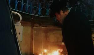 נרות החנוכה המיסו את הקור של מולדובה