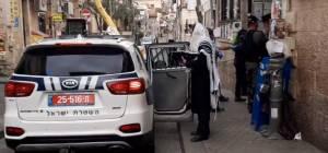 תיעוד: המשטרה פשטה על 'זכרון משה' בי-ם