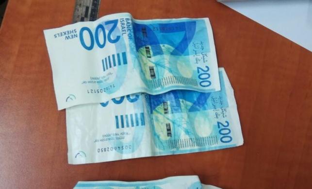 3 נעצרו בבני ברק בחשד לשימוש בשטרות מזויפים
