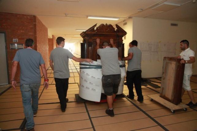 לאחר יובל: בית הכנסת בכנסת יורחב וישופץ
