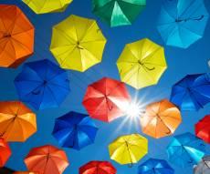 מטריה ליום סגריר. אילוסטרציה
