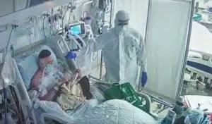 מרגש: חולה קורונה התעורר - וביקש תפילין