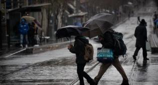 תחזית: גשמים עזים יירדו במהלך השבת, קר מהרגיל לעונה