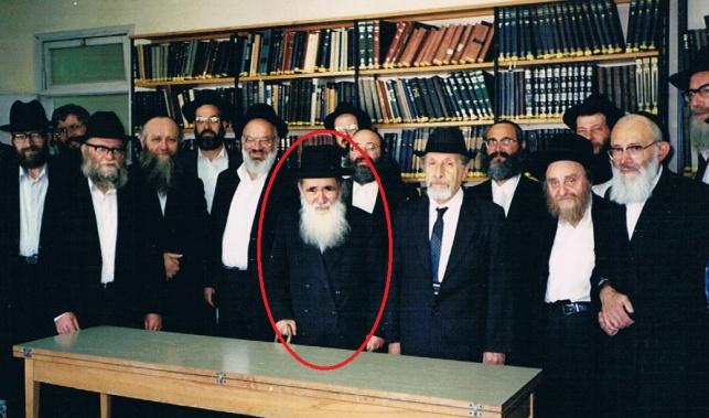 """הגר""""א בורודיאנסקי יחד עם צוות האנציקלופדיה התלמודית"""
