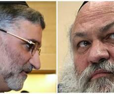"""הרב יצחק גולדקנופף, יו""""ר וועדת הרבנים, וחבר המועצה חיים כהן"""