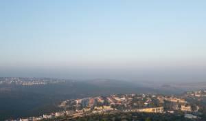 הנוף המרהיב של קרני שומרון