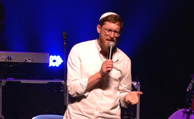 יצחק מאיר בביצוע לייב: 'ואני קרבת אלוקים'