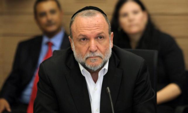 סגן שר האוצר יצחק כהן
