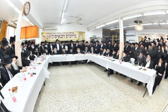 """צפו בתיעוד: הכינוס ה-36 של 'מפעל הש""""ס'"""