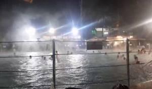 החוויה: גשם שוטף מלמעלה, ובריכה חמה מלמטה - חמת גדר ליל שישי האחרון