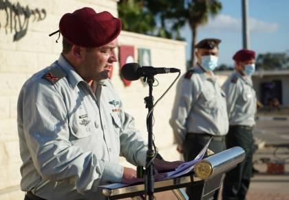 מפקד האוגדה בנאום הכניסה: ה' תן בי ענווה