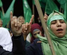 מפגן ניצחון של חמאס בעזה