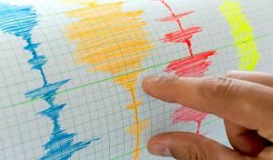 """רישום סייסמוגרפי. אילוסטרציה - קבלו את """"תרועה"""": תחשוף רעידות אדמה"""