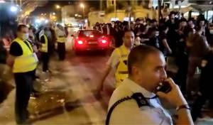הבטיחו, והגבירו: עימותים בהפגנה בבר אילן